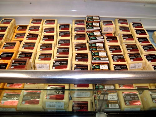 All our cheeses are available at the retail store.